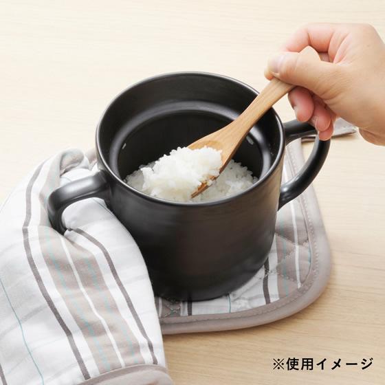 【画像1】魔法のご飯マグ(一合用) ブラウン(画像提供:株式会社カインズ)
