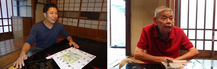 【画像3】趣味はギター演奏という長田さん(写真左)74歳の小宮一巳さん(写真右)(写真撮影:SUUMOジャーナル編集部)