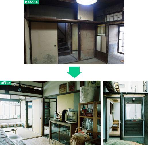 【画像3】守口の長屋〜まるで露天風呂〜(画像提供:株式会社アートアンドクラフト)