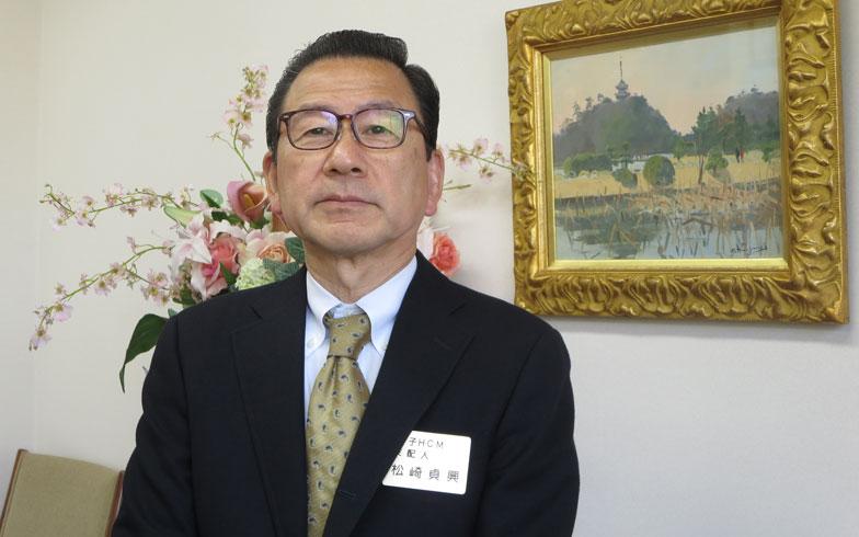 【画像11】「当社は東京の小金井市で1978年に、元市長でもあった創業者が『小金井ヘルス・ケア・マンション』を開設したのが始まり。リタイアメント・ハウスとして人生を楽しんで頂こうというのがコンセプトです」(写真撮影:藤井繁子)