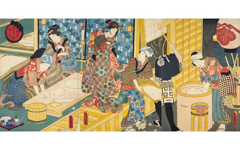 江戸時代の餅の調達法は4通り。とんでもない方法で餅つきする男も?