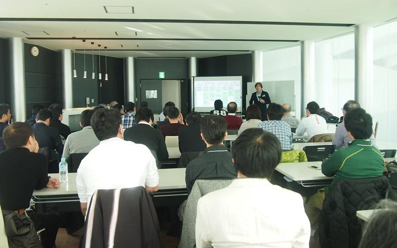 【画像2】この日の勉強会には約50名の理事等の参加があった(写真撮影:SUUMOジャーナル編集部)