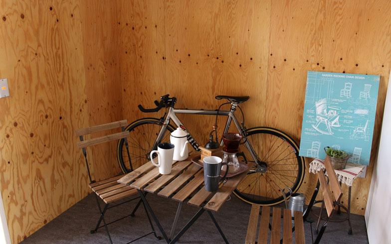【画像2】自転車移動が便利な立地の同物件。趣味の自転車をディスプレイする場所として玄関スペースを活用することもできる(画像提供/大阪市住まい公社)