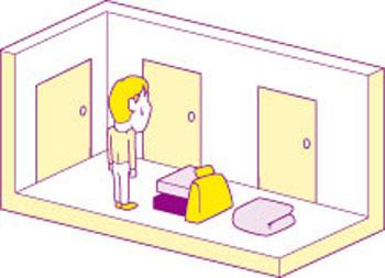 【画像3】部屋数を多くして収納不足にならないようにしよう(イラスト:YAGI)