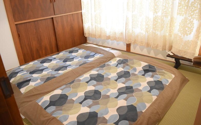 """【画像2】あくまでも""""まちに出て行ってもらう""""ということがコンセプトのため、部屋は寝るだけのシンプルな和室に(写真撮影/SUUMOジャーナル編集部)"""