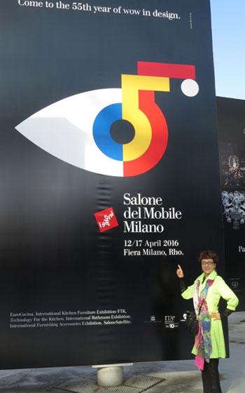 【画像2】今年は55周年を記念したロゴも発表。ロレンツォ・マリーニによるデザイン(写真提供/藤井繁子)