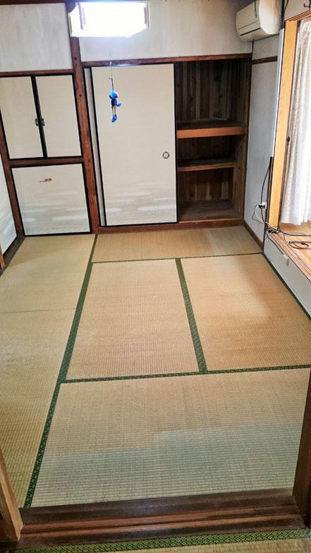 【画像3】居間になっていた居室を片付けたらこの広さになった(画像提供:Kさん)