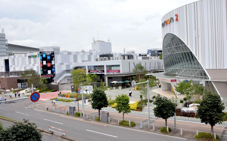 【画像1】商業ビル「コクーンシティ」が3棟建つ「さいたま新都心駅」周辺の様子(写真撮影/次にくる住みたい街はここだっ!取材班)