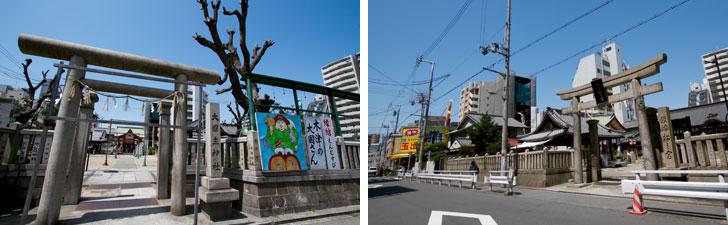 【画像2】「敷津松之宮」の境内に摂社として建てられている「大国主神社」(写真撮影/井村幸治)