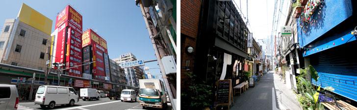 【画像7】自転車を使えば日本橋の電気街や、裏なんばの繁華街も10分ほど。大阪ミナミの刺激的な生活を楽しむこともできるはず(写真撮影/井村幸治)
