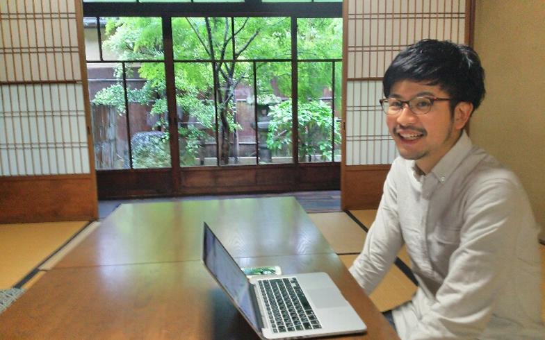 【画像2】京都移住計画の事務所は京都の町家を生かした京都リサーチパーク株式会社が運営しているKRP町家スタジオにある(写真撮影:四宮朱美)