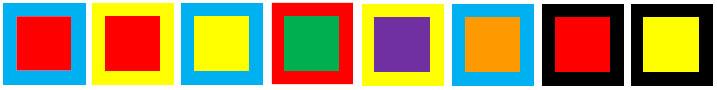 【画像2】使用が禁止される配色例が具体的に示されている(画像/「芦屋市屋外広告物条例の手引き」より抜粋)
