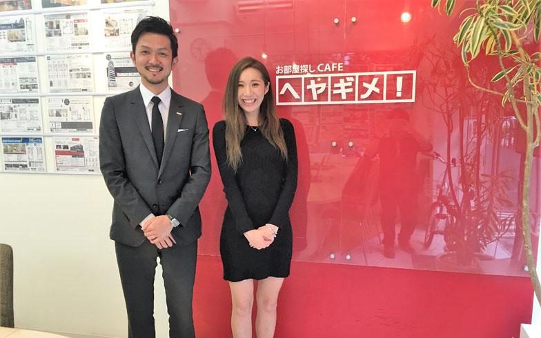 【画像1】ヘヤギメ!六本木店の西林店長(左)と内田チーフ(右)(写真撮影/榎並紀行)