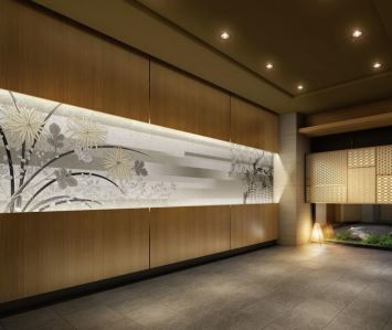 エントランスホール完成予想図。画像:伊藤忠都市開発
