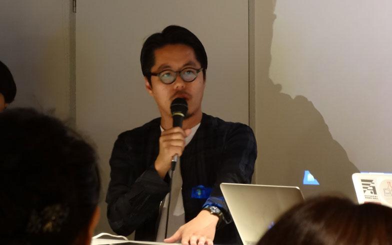 【画像1】主催者の坂口修一郎さん。2010年から鹿児島で野外イベントGOOD NEIGHBORS JAMBOREEを主催している(写真撮影/SUUMOジャーナル編集部)
