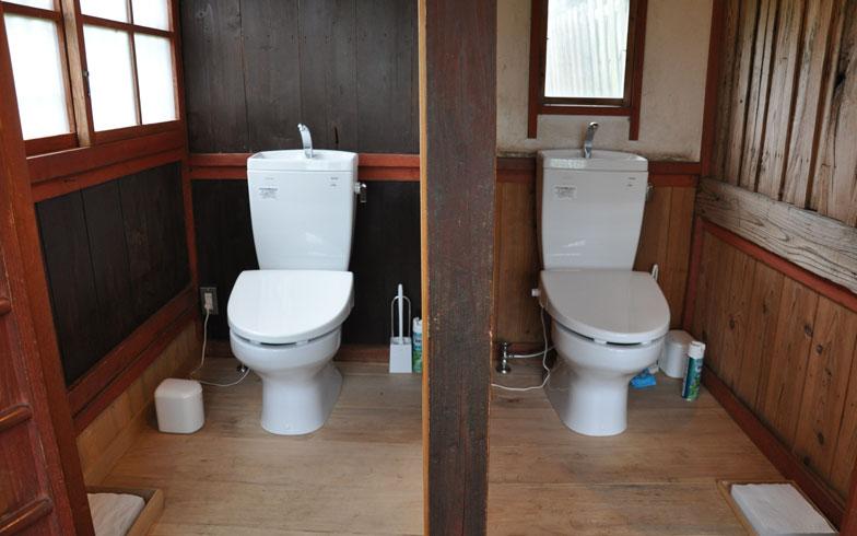 【画像4】以前は汲み取り式だったという男女トイレも洋式にリフォーム(写真撮影/嘉屋恭子)
