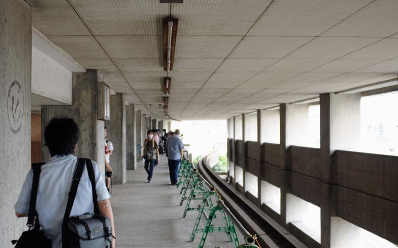 【画像2】「大将軍」駅のホームの様子。ほぼ半世紀ぶりの公開となれば、応募も殺到するというもの(写真撮影/小川裕夫)