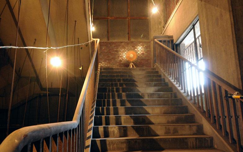 【画像5】今回の公開は、姫路市営モノレールの大将軍駅のみ。2〜3階の駅舎部分以外は公開されていなかったそう(写真撮影/小川裕夫)