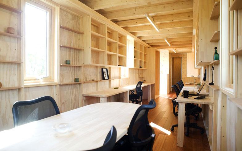 【画像7】1〜8名程度までのオフィスとしても活用できる(画像提供/アーキビジョン21)