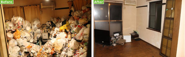【画像3】ゴミ集積場に持って行けばいいだけのゴミ袋がうずたかく…。ゴミの日に捨てる習慣を持ちましょう(画像提供/まごのて)