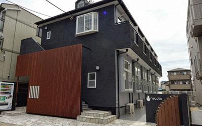 【画像1】千葉県市川市の猫専用共生型賃貸住宅