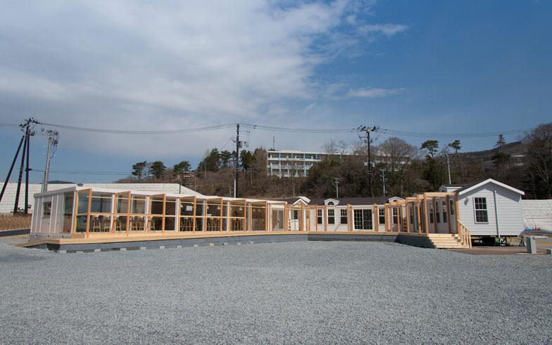【写真4】NPO法人アスヘノキボウが運営する「女川フューチャーセンター Camass(カマス)」。コワーキングスペースや創業支援の窓口、住民の集いの場だ(画像提供/女川町)