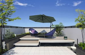 ガーデンフロアス「ラステラ」。画像:三協立山