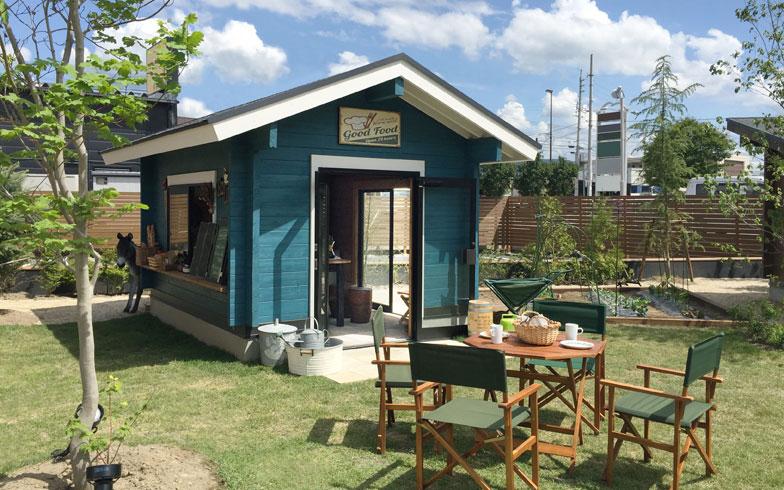 【画像3】小屋が置かれることで場の活用が進み、外との価値を高める「IMAGO-A」。Aはアクティベーターから命名(写真提供/BESS)