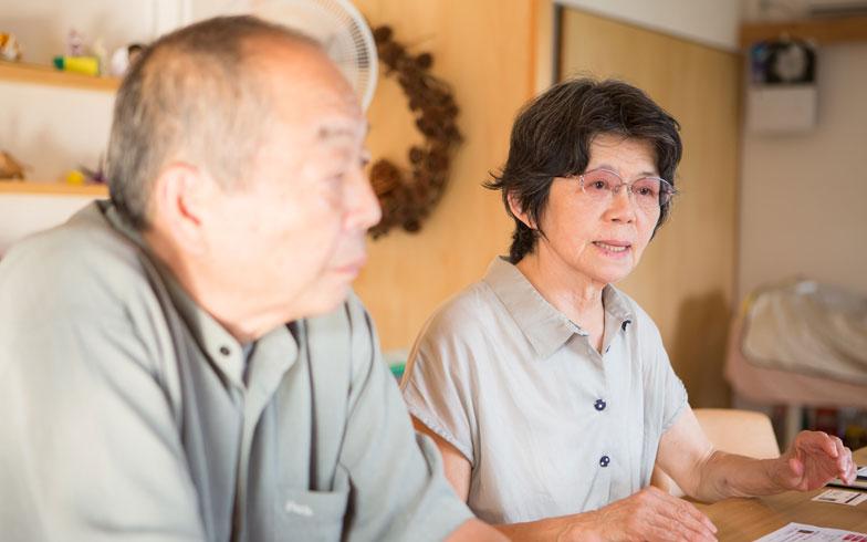 【画像5】聡明なお話ぶりに、幼稚園の先生を65歳まで勤め上げられたと聞き納得!「藤井さんの人柄に引かれて決めました」と、小森さん(右)(写真撮影/片山貴博)