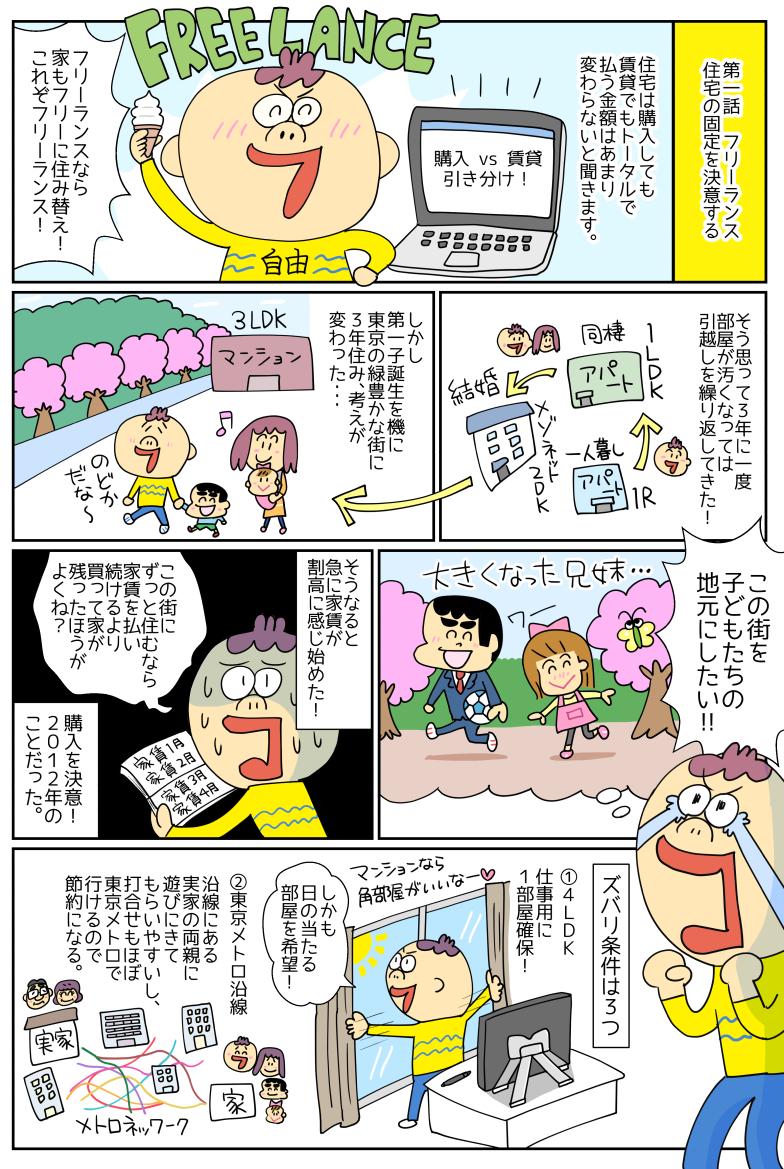 1ページ(イラスト/つぼいひろき)