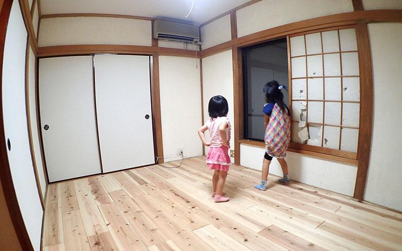 【画像16】子どもが「破れた障子がヤダ!」というので、いっそのことカーテンにしようと思います(写真撮影/玉置豊)