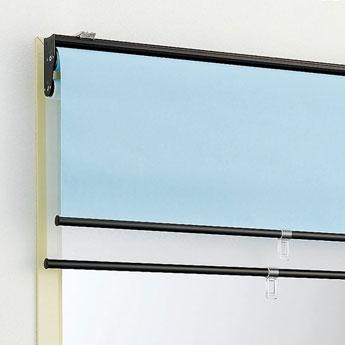 【画像5】ひとつで光の入り具合を2段階調整できる優れモノなロールスクリーンも(画像提供/ニチベイ)
