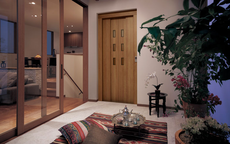 【画像7】パナソニックでは床材など自社の製品と同じシリーズで、エレベーターもトータルコーディネート(写真提供/パナソニック)