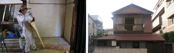 【画像5】東京で最初にシェアハウス改装を手掛けた庭付きの一戸建て(画像提供/伊藤洋志)
