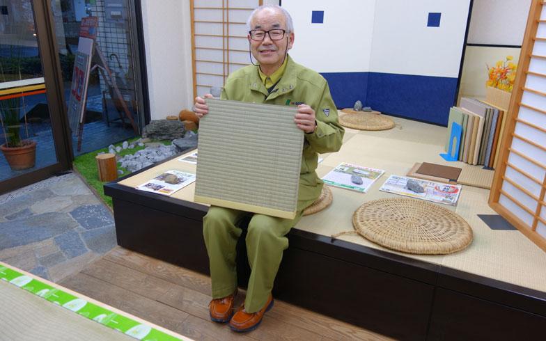 【画像8】「NPO畳文化保存会」会員として畳の良さを広める活動も行っている穴水美樹さん。畳に対する思いをあつく語ってくれました(写真/金井直子)