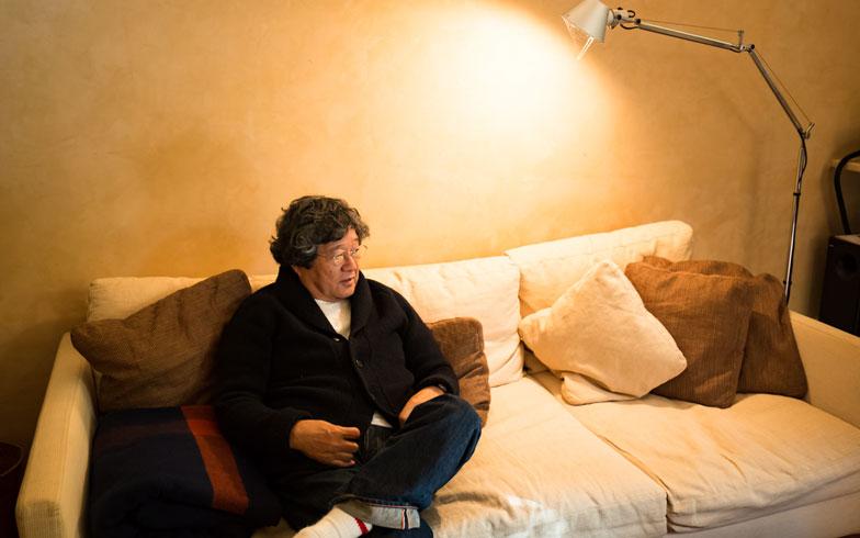 【画像3】「そのころ、NYや海外にいる友人は、身軽に転居しながら面白い暮らし方してたんだよね」。そんな触覚が『Casa BRUTUS』の誕生につながった(写真撮影/片山貴博)