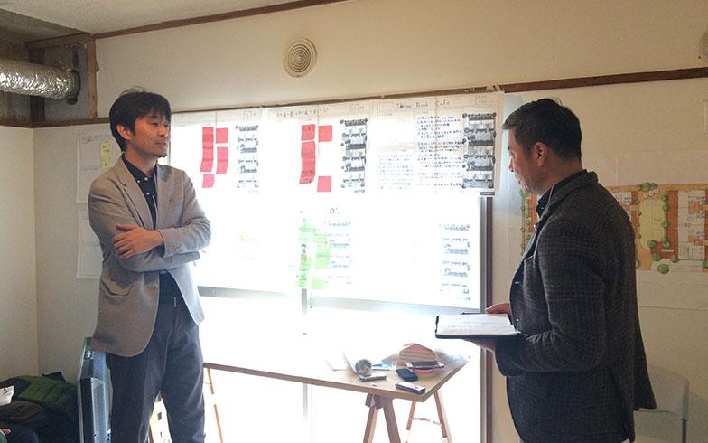 【画像8】最後に6チームがそれぞれシナリオを発表した。写真はUR都市機構チームの発表の様子(写真撮影/介川亜紀)