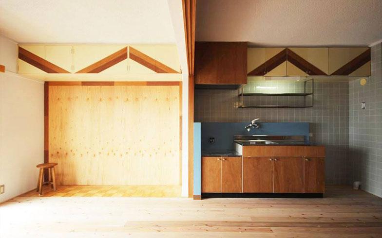 【画像9】リノベーションが完了しすでに入居中の住戸、「青と緑~育てる暮らし~」(写真提供/スペースRデザイン)