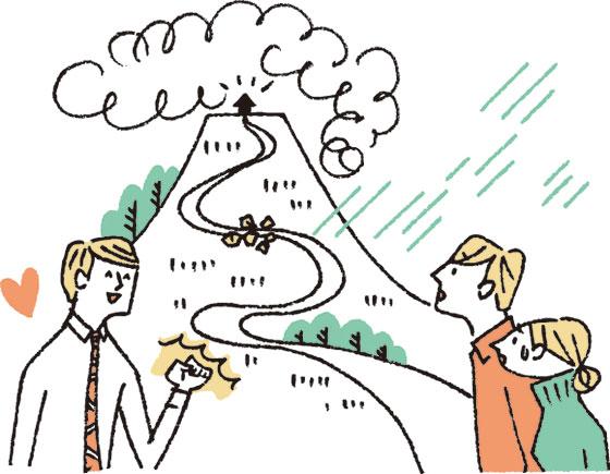 【画像1】丁寧に説明してくれる会社を選ぼう(イラスト/柿崎こうこ)