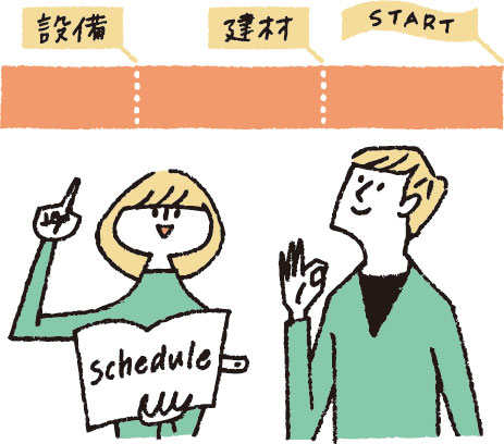 【画像7】決められた期限を守れるよう早めの行動を(イラスト/柿崎こうこ)