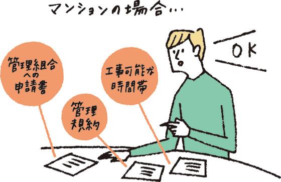 【画像9】必要書類の準備を忘れずに(イラスト/柿崎こうこ)