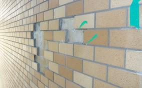 マンションの外壁のタイルがはがれてる。それって施行ミスかも?