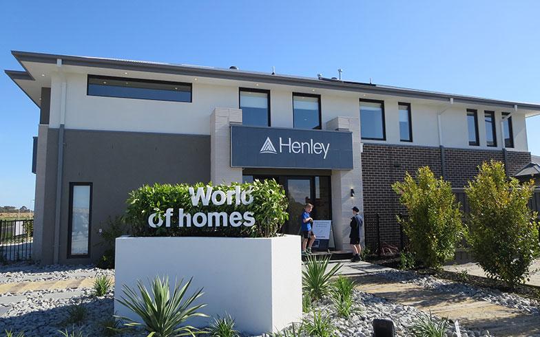【画像2】大規模住宅開発地Berwick WatersにあるHenley社の販売センター(写真撮影/藤井繁子)