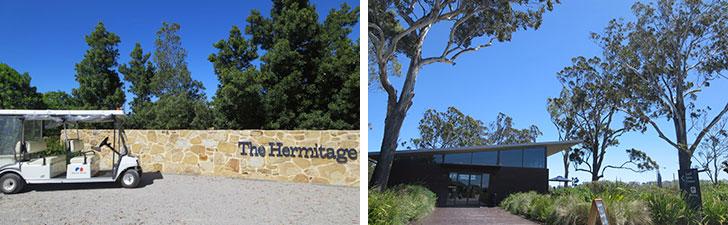【画像9】積水ハウスの住宅開発地「The Hermitage(ザ・ヘリミテージ)」。約230haに約1800区画を計画。右は販売センター(写真撮影/藤井繁子)