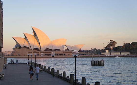 【画像22】オペラハウスのように、日本企業の街づくりがオーストラリアのレガシーになる日が来るのかも(写真撮影/藤井繁子)
