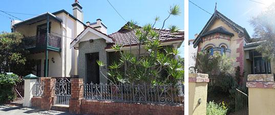 【画像2】都市部の敷地はオーストラリアでも小さめ。ワイルドな植栽が南半球っぽい(写真撮影/藤井繁子)