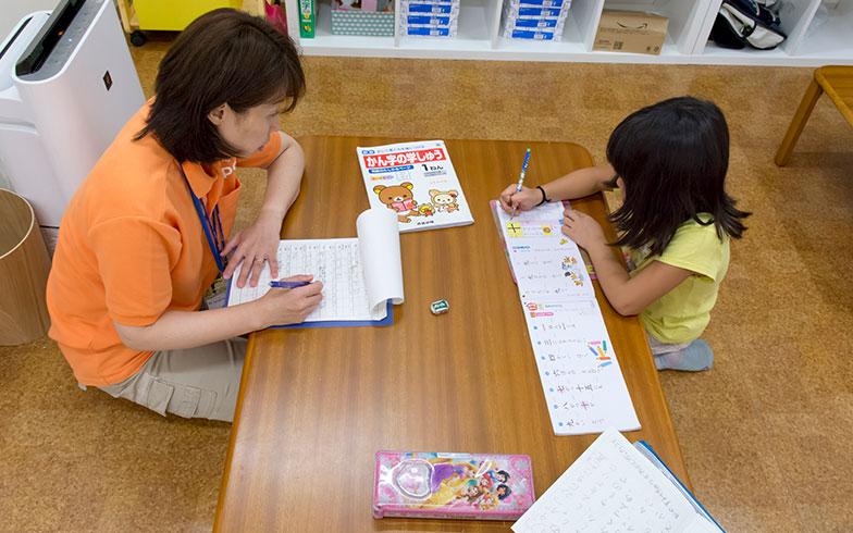 【画像2】まずは、学校の宿題を済ましてから(画像提供/阪急電鉄)