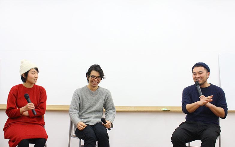 【画像1】講義の様子。青木さんが聞き手になることで、思いもよらぬ本音が飛び出す(画像提供/株式会社まめくらし)