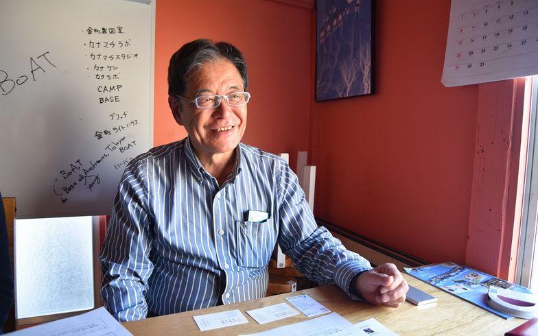 【画像8】オーナーの菅 完治さん。やわらかい笑顔に人柄がにじむ(写真撮影/榎並紀行)