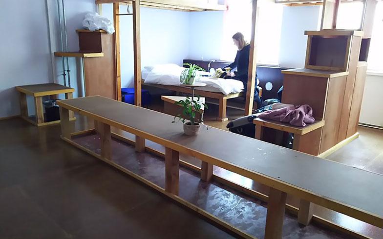 【画像3】初めて改修を手掛けたドミトリーの部屋(写真撮影/SUUMOジャーナル編集部)